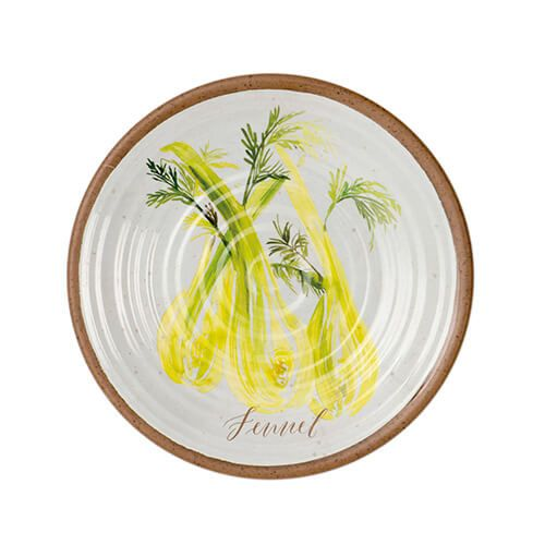 Epicurean Melamine Alfresco Fennel 22cm Side Plate