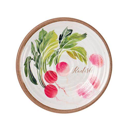 Epicurean Melamine Alfresco Radish 22cm Side Plate