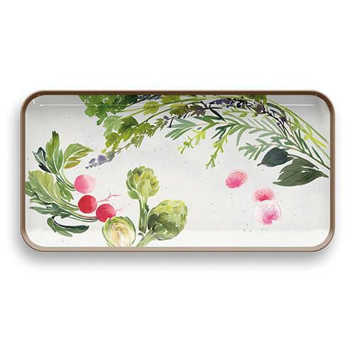Epicurean Melamine Alfresco Long Rectangular Tray