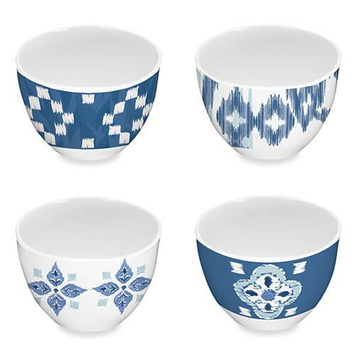Epicurean Melamine Kyoto Set Of 4 Dipping Bowls