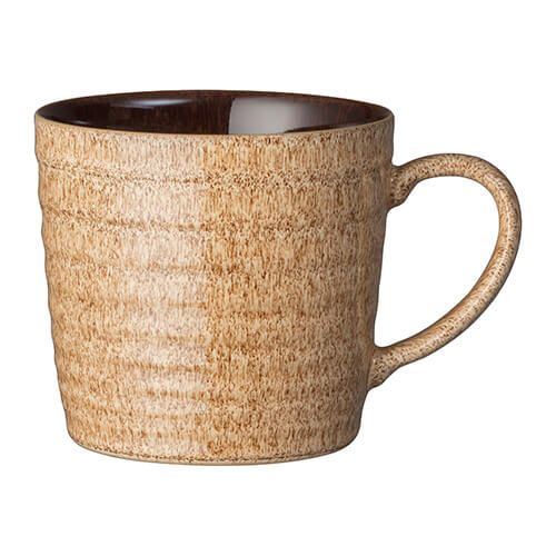 Denby Studio Craft Walnut Alt Ridged Mug