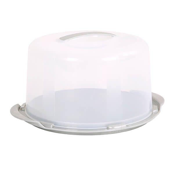 Wham Cook Aluminium & Clear Deep Round Cake/Cheese Dome
