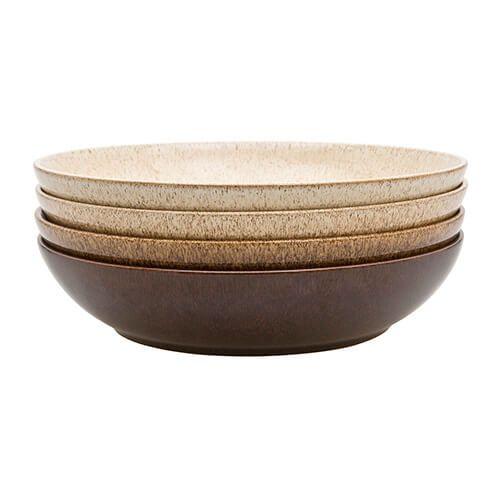 Denby Studio Craft 4 Piece Pasta Bowl Set