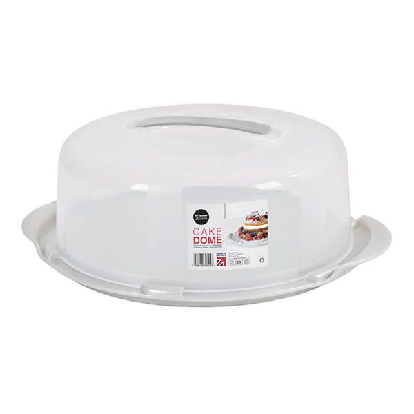 Wham Cook Aluminium & Clear Round Cake/Cheese Dome