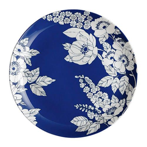 Denby Monsoon Fleur Medium Plate Blue