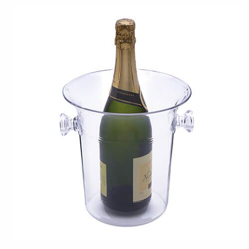 Epicurean Barware Acrylic Champagne Bucket With Handles