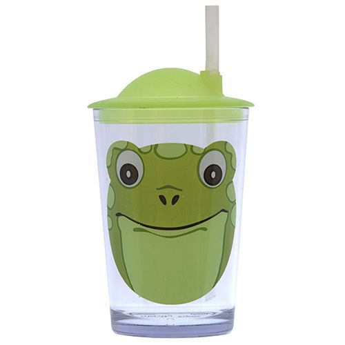 Epicurean Frog Tumbler With Lid & Straw