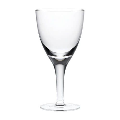 Denby China White Wine Glass Pack Of 2