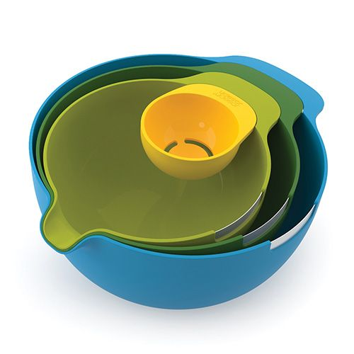 Joseph Joseph Nest Plus Mix Baking Mixing Bowl Set