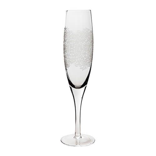 Denby Monsoon Filigree Champagne Flute Pack Of 2