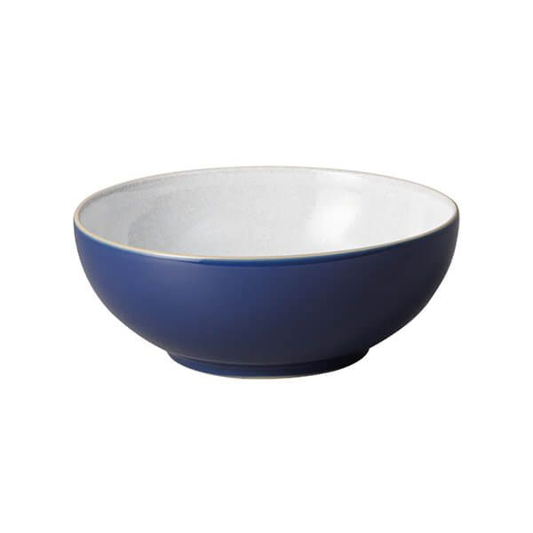 Denby Elements Dark Blue Coupe Cereal Bowl