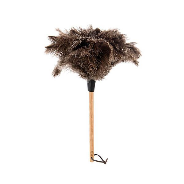 Valet Ostrich Feather Duster Beech Handle 23cm