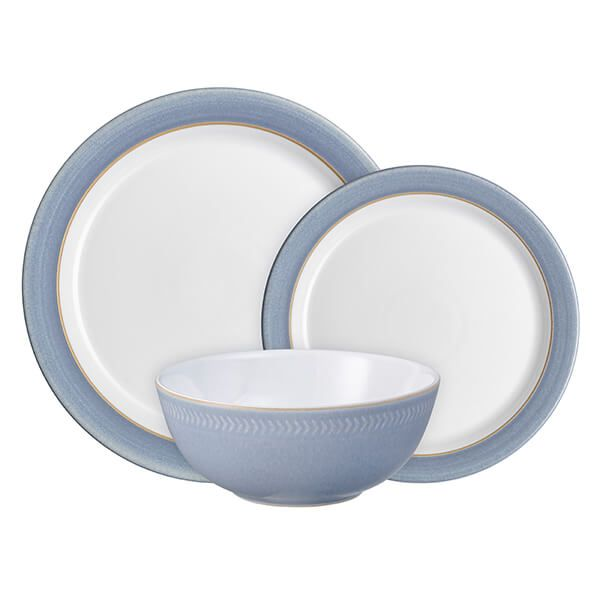 Denby Natural Denim 12 Piece Tableware Set