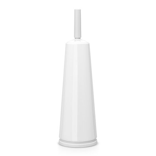 Brabantia White Toilet Brush and Holder