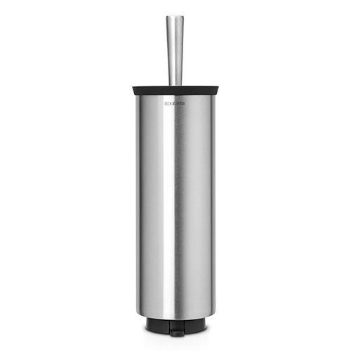 Brabantia Matt Steel Toilet Brush and Holder