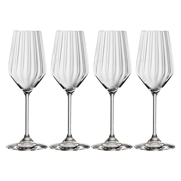 Spiegelau LifeStyle Champagne Glasses Set Of 4