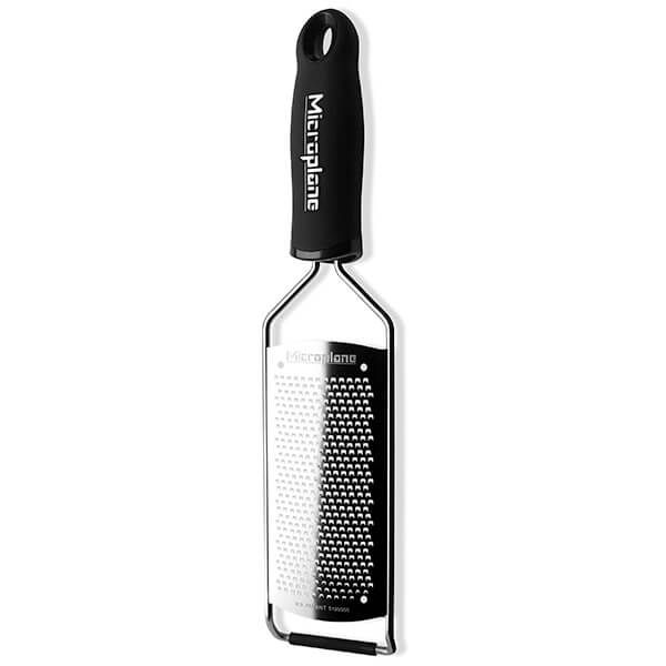 Microplane Gourmet Series Fine Grater Black