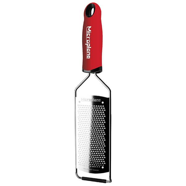 Microplane Gourmet Series Fine Grater Red
