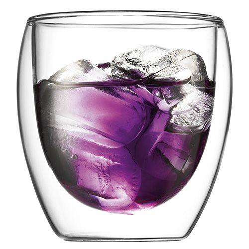Bodum Pavina Double Wall Glass 0.25L / 8oz Set Of 2