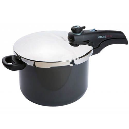 Prestige Smart Plus Hard Anodized Pressure Cooker 6 Litre - Induction Base
