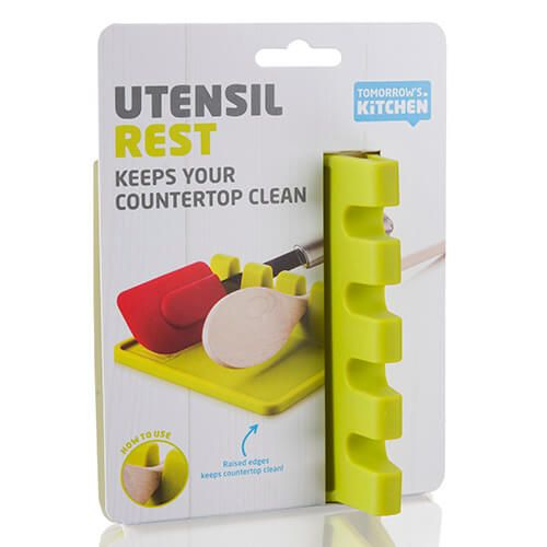 Tomorrow's Kitchen Utensil Rest Green
