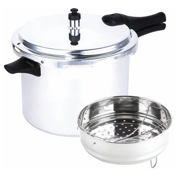 Prestige Aluminium Medium Dome Pressure Cooker 8 Litre
