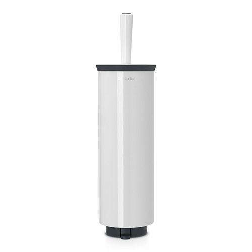 Brabantia White Toilet Brush and Holder