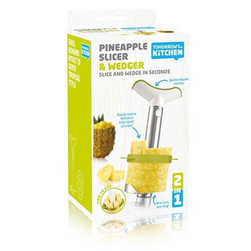 Tomorrow's Kitchen Pineapple Slicer Medium & Wedger Giftpack Stainless Steel