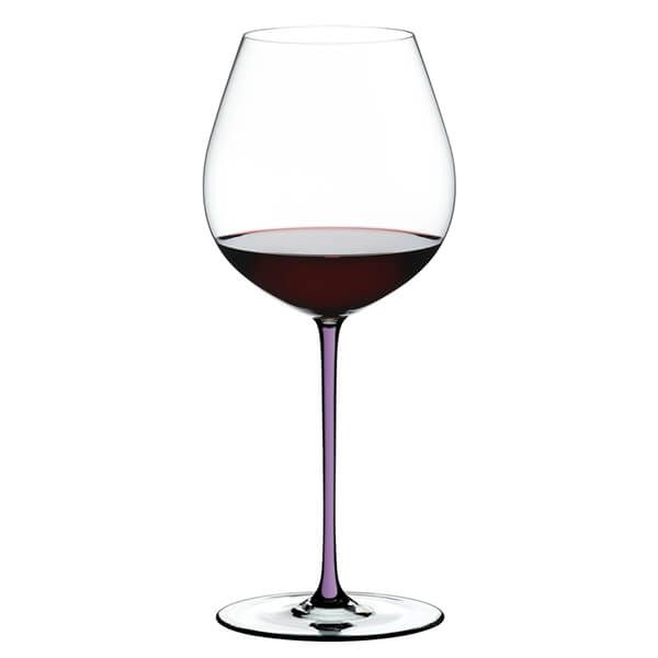 Riedel Hand Made Fatto a Mano Old World Pinot Noir Wine Glass Violet