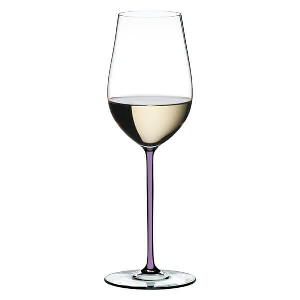 Riedel Hand Made Fatto a Mano Riesling / Zinfandel Wine Glass Violet