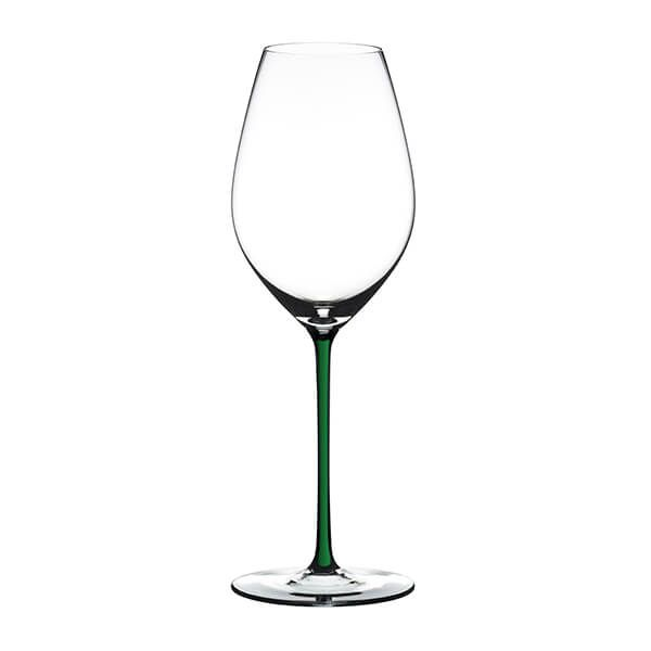 Riedel Hand Made Fatto A Mano Champagne Wine Glass Green