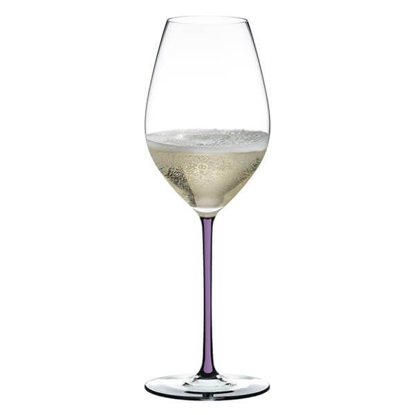 Riedel Hand Made Fatto a Mano Champagne Wine Glass Violet