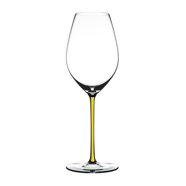 Riedel Hand Made Fatto A Mano Champagne Wine Glass Yellow