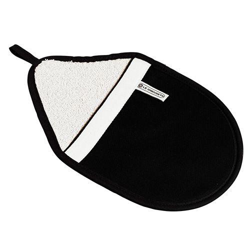 Le Creuset Black Oval Pot Holder