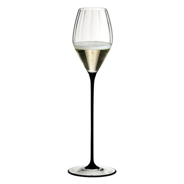 Riedel High Performance Champagne Glass Black