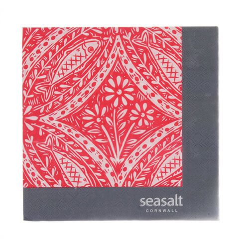 Seasalt Poisson Paper Napkins Pack of 20