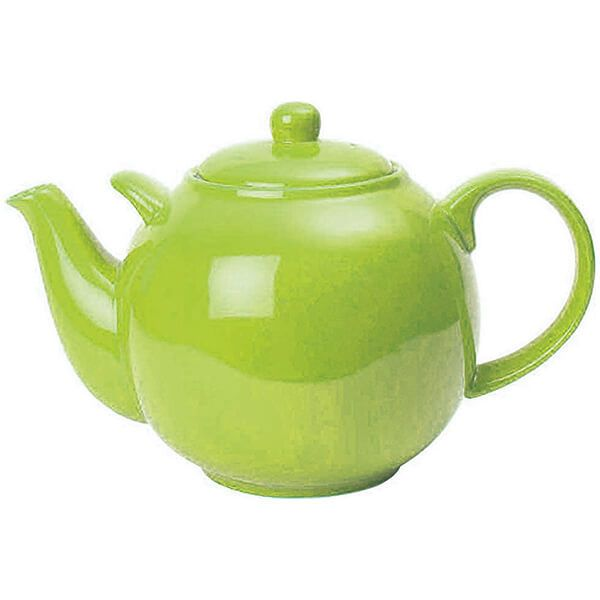 London Pottery Globe 10 Cup Teapot Greenery