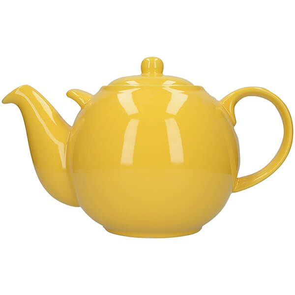 London Pottery Globe 10 Cup Teapot New Yellow