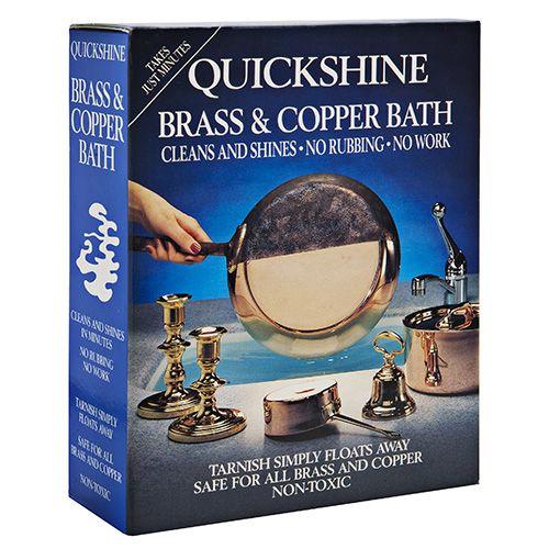 Eddingtons Quickshine Brass & Copper Bath