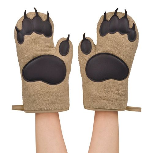 Fred Bear Hand Oven Gloves