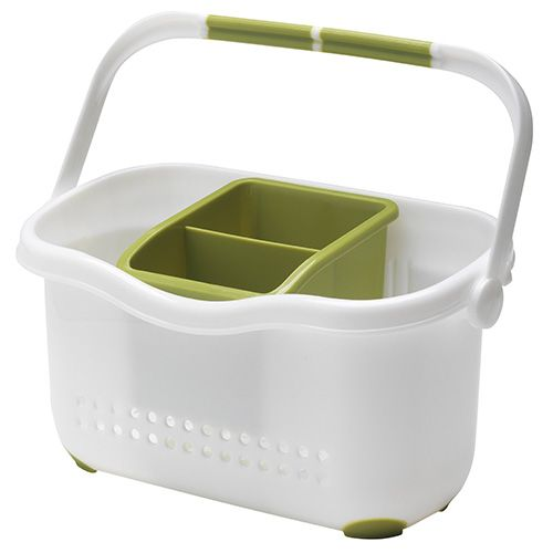 Addis Sink Caddy White / Green
