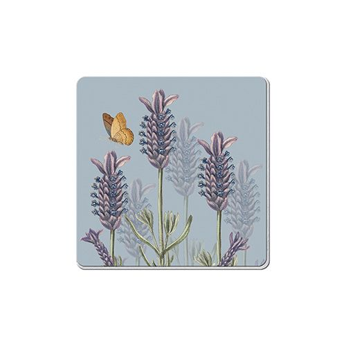 Royal Botanic Gardens Kew Lavender Set Of 6 Coasters