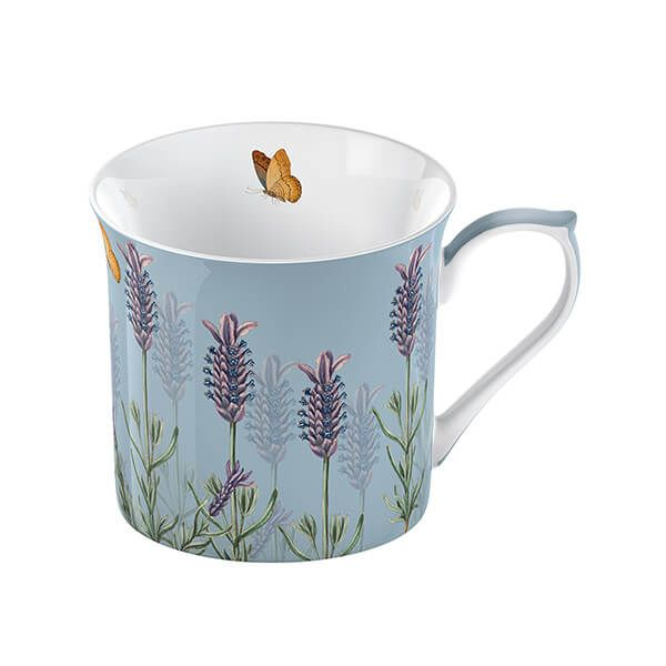 Royal Botanic Gardens Kew Lavender Palace Mug Blue