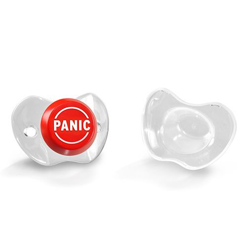 Fred Chill Baby Panic Button Baby Pacifier