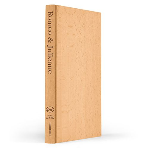 Fred Romeo and Julienne Book Chopping Board