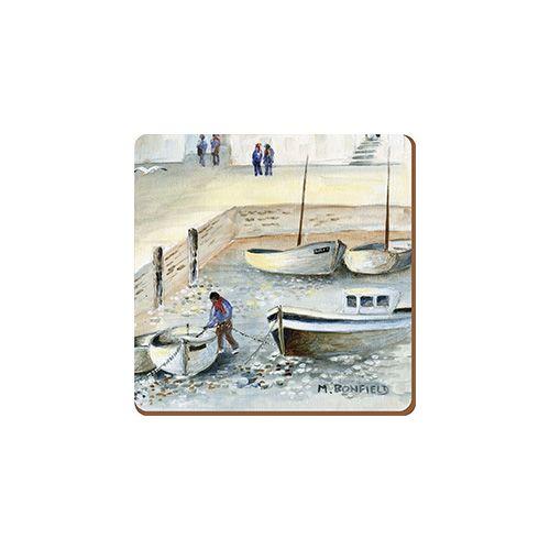 Creative Tops Cornish Harbour Set Of 6 Premium Coasters