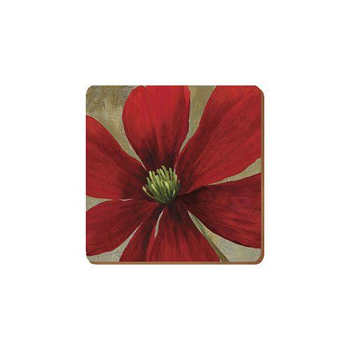 Creative Tops Flower Study Set Of 6 Premium Coasters