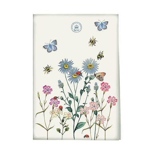 Royal Botanic Gardens Kew Meadow Bugs Tea Towel