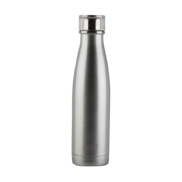 Built 483ml Double Walled Stainless Steel Water Bottle Silver