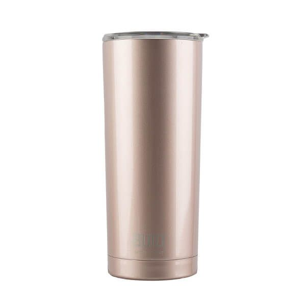 Built 568ml Double Walled Stainless Steel Travel Mug Rose Gold